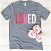 So Very Loved... Vintage Boyfriend Vneck Tee