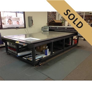 Mimaki JF-1631 True Flatbed Printer w/White
