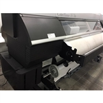 "Seiko H2-74S 74"" Solvent Printer"