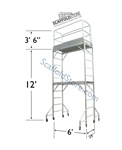 12' Multi-Function Tower - Aluminum