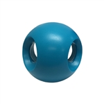 "**TEMPORARILY UNAVAILABLE** HUETER TOLEDO SOFT-FLEX® HEAVY DUTY SQUEAKER TOYS POWERHOUSE - 4"" - BLUE  UPC 095467066041 3.63"