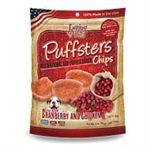 ***TEMPORARILY UNAVAILABLE*** LOVING PETS 3 OZ. PUFFSTERS CRANBERRY AND CHICKEN CHIPS (6 PER CASE, $2.76 EACH)  UPC 842982051300 ***TEMPORARILY UNAVAILABLE***