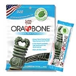 LOVING PETS PRODUCTS 14 OZ. SMALL ORABONE DENTAL DOG TREAT  UPC 842982051546
