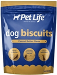 SUNSHINE MILLS 4/14.5 OZ. PET LIFE PEANUT BUTTER / MOLASSES DOG BISCUITS UPC 041746009988