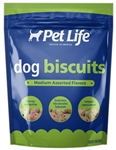 SUNSHINE MILLS 4/15.5 OZ. PET LIFE MED. ASSORTED DOG BISCUITS  UPC 041746919188