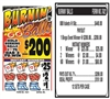 7A21 Burnin Balls $0.50 Bingo Event Ticket
