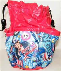 10-Pocket Bingo Dauber Bag In Bingo We Trust
