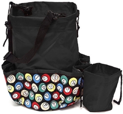 Deluxe 10-Pocket Bingo Dauber Bag - Eagle