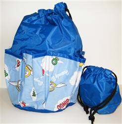 Deluxe 10-Pocket Bingo Dauber Bag - Heavenly