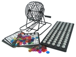 Bingo Cage Set - Home Use
