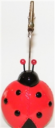 Ladybug Bingo Admission Ticket Holder