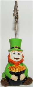 Ceramic Leprechaun Bingo Admission Ticket Holder
