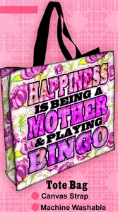 Mother's Day Bingo Tote Bag