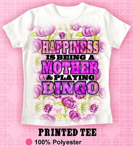 Mother's Day Bingo TShirt