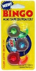 Bingo Mini Tape Dispenser 3 - Pack