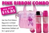 Bingo Pink Ribbon Purse Combo
