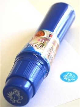 Turkey Thanksgiving Imprint Blue Bingo Dauber