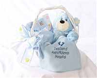 Baby Boy Basket (sm)