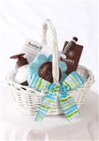 Spa Gift Basket (blue)
