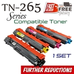 Compatible Brother TN261 TN265 set