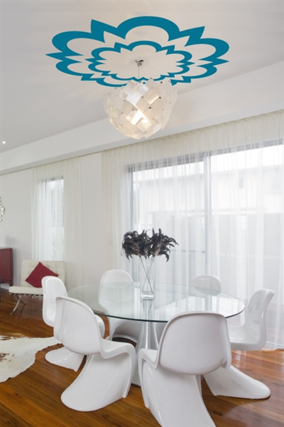 Ceiling Art Decals Kaleidoscope Medallion