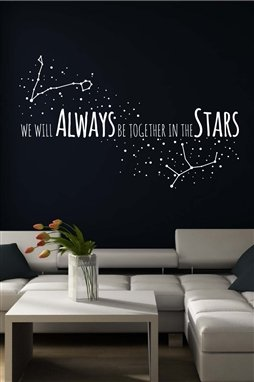 Together in the Stars Wall Decal