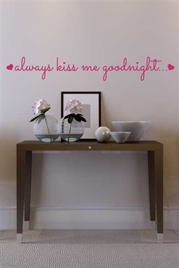 Wall Decals  - Midnight Kissing