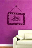Wall Decals  - Home Sweet Home 1
