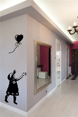 Wall Decals  - Balloon Hearts