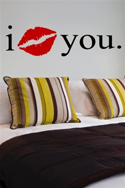 Wall Decals  - I Love You