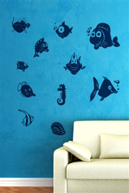 Wall Decals  - Fish