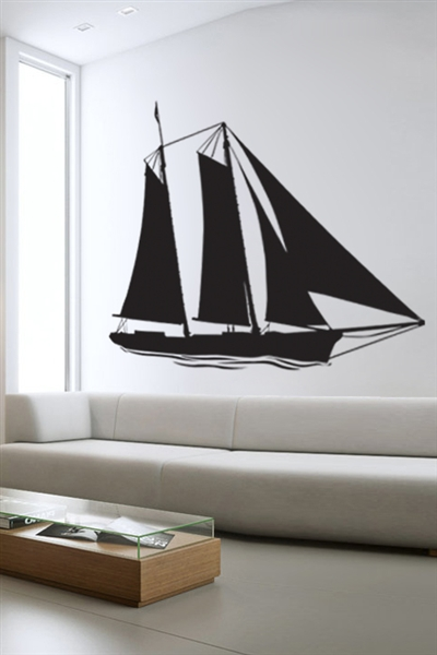 Wall Decals  - Sail Boat