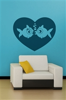 Wall Decals  - Fish Love
