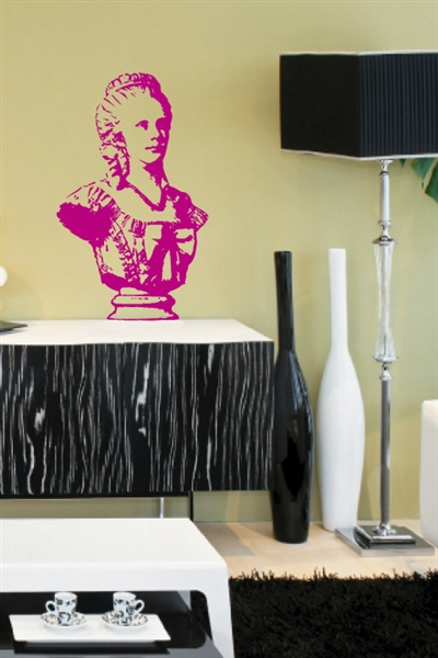 Miss Dorothy Bust Vintage Wall Decals