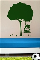 Wall Decals  - Bear in orchard