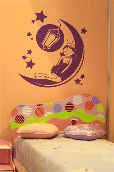 Wall Decals  - Sleeping Princess