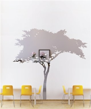 Wall Decals  Reflective African Tree