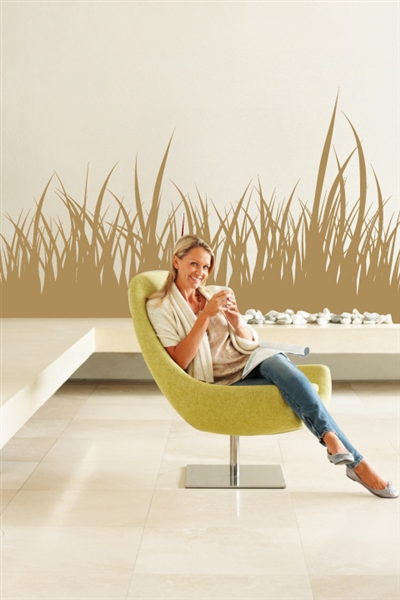 Wall Decals  Tall Grasses