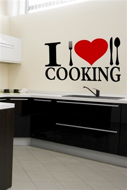 Wall Decals Cooking Graphic