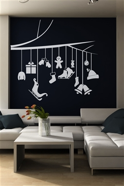 Winter Line Wall Decals