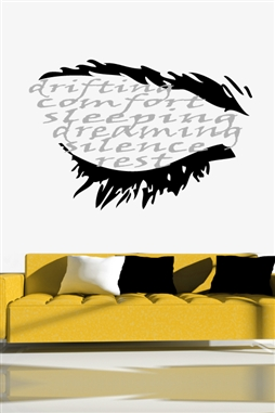 Sleeping Lingo Wall Decals