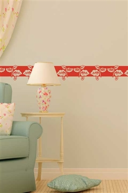 Leaf Square Wall Decals