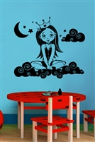 Cloud Princess Wall Decals