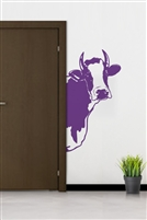 Purple Cow Wall Decals