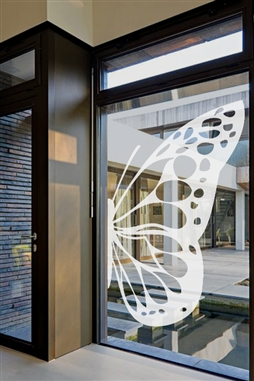Window Decals Butterfly Wing