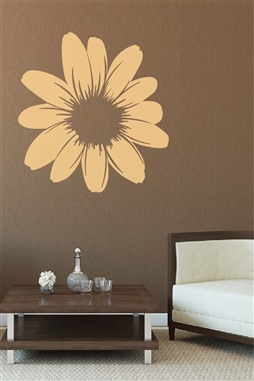 Wall Decals  Flower Mirror -Reflective Decals