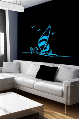 Wall Decals  Blue Azur
