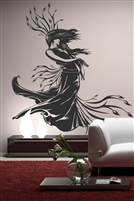 Wall Decals  Lady Nature