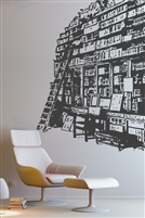 Wall Decals  Book Shelf