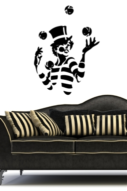 Wall Decals -Clown